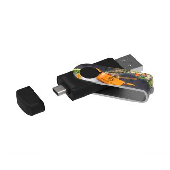 USB Stick Twister-C 3.0 Max Print