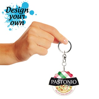 Design Your Own Key Rings