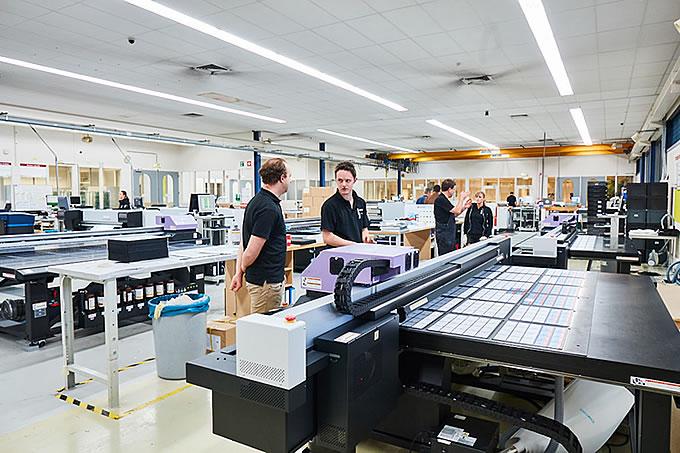 Our Full-Color printers print Pantone